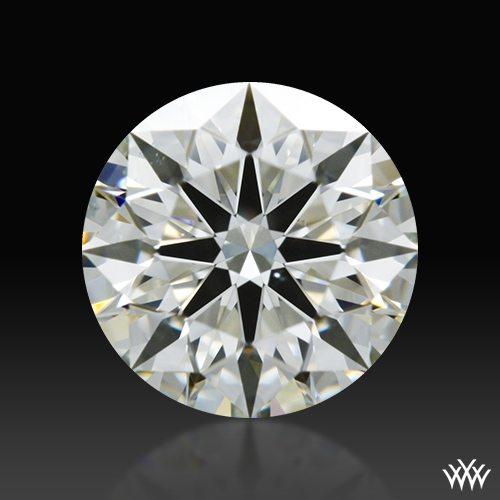 0.808 ct K VS2 A CUT ABOVE® Hearts and Arrows Super Ideal Round Cut Loose Diamond