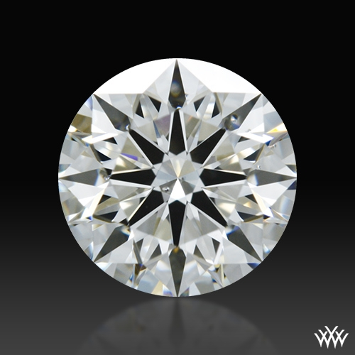 0.848 ct I SI1 A CUT ABOVE® Hearts and Arrows Super Ideal Round Cut Loose Diamond