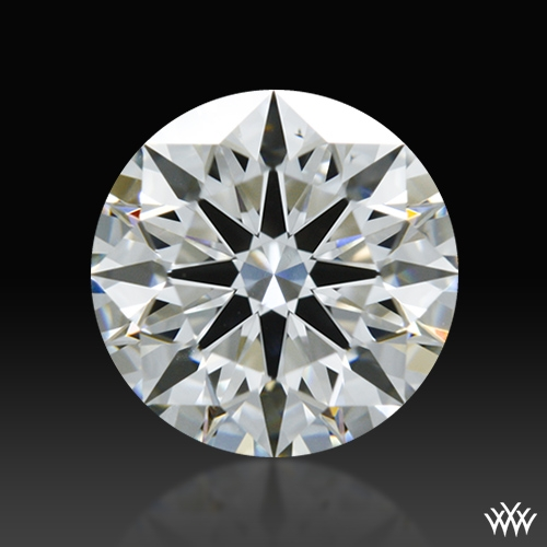 0.817 ct G VS2 A CUT ABOVE® Hearts and Arrows Super Ideal Round Cut Loose Diamond