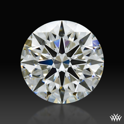 0.843 ct I VS1 A CUT ABOVE® Hearts and Arrows Super Ideal Round Cut Loose Diamond