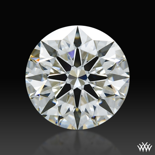 1.31 ct H VS1 A CUT ABOVE® Hearts and Arrows Super Ideal Round Cut Loose Diamond
