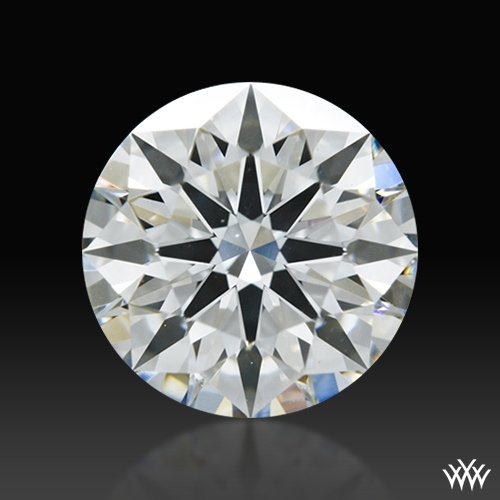 1.137 ct I SI1 A CUT ABOVE® Hearts and Arrows Super Ideal Round Cut Loose Diamond