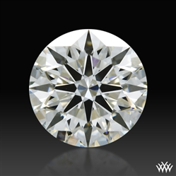 0.597 ct I SI1 A CUT ABOVE® Hearts and Arrows Super Ideal Round Cut Loose Diamond