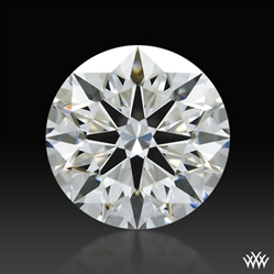 0.833 ct H VS1 A CUT ABOVE® Hearts and Arrows Super Ideal Round Cut Loose Diamond