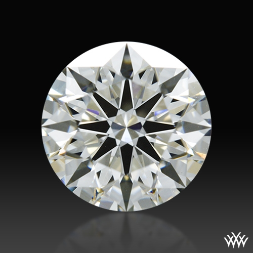 0.814 ct I VS1 A CUT ABOVE® Hearts and Arrows Super Ideal Round Cut Loose Diamond