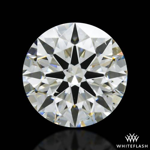 1.127 ct J SI1 A CUT ABOVE® Hearts and Arrows Super Ideal Round Cut Loose Diamond