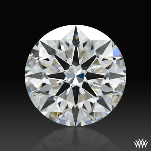 0.775 ct F SI1 A CUT ABOVE® Hearts and Arrows Super Ideal Round Cut Loose Diamond