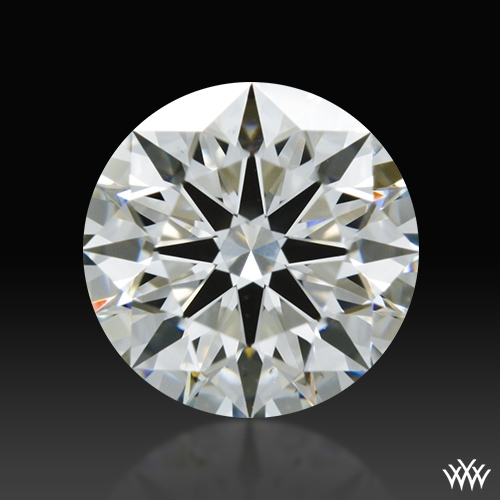 0.747 ct I VS2 A CUT ABOVE® Hearts and Arrows Super Ideal Round Cut Loose Diamond