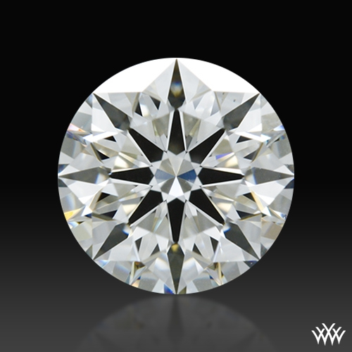 0.857 ct I VS1 A CUT ABOVE® Hearts and Arrows Super Ideal Round Cut Loose Diamond