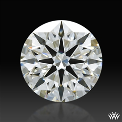 0.781 ct H SI1 A CUT ABOVE® Hearts and Arrows Super Ideal Round Cut Loose Diamond