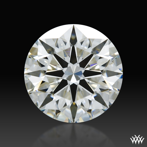 0.774 ct H SI1 A CUT ABOVE® Hearts and Arrows Super Ideal Round Cut Loose Diamond