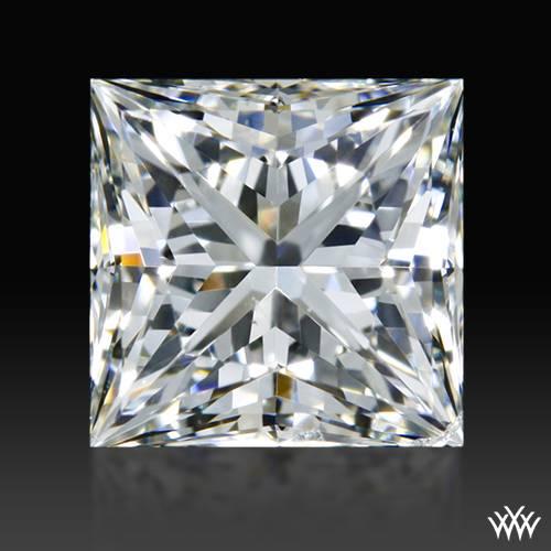 0.861 ct I SI1 A CUT ABOVE® Princess Super Ideal Cut Diamond