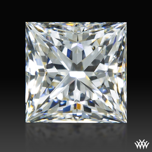 0.89 ct F VS1 A CUT ABOVE® Princess Super Ideal Cut Diamond