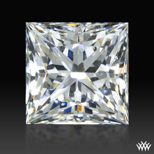 0.89 ct F VS1 A CUT ABOVE® Princess Super Ideal Cut Diamond