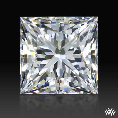 0.621 ct F VS2 A CUT ABOVE® Princess Super Ideal Cut Diamond