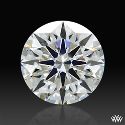 0.527 ct G VS2 A CUT ABOVE® Hearts and Arrows Super Ideal Round Cut Loose Diamond