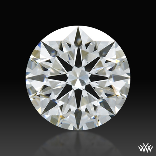 0.542 ct F VS1 A CUT ABOVE® Hearts and Arrows Super Ideal Round Cut Loose Diamond