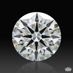 0.513 ct G VS2 A CUT ABOVE® Hearts and Arrows Super Ideal Round Cut Loose Diamond