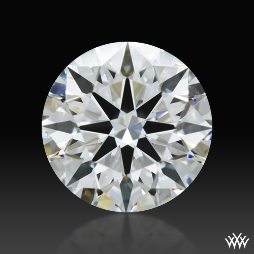 0.555 ct F VS1 A CUT ABOVE® Hearts and Arrows Super Ideal Round Cut Loose Diamond