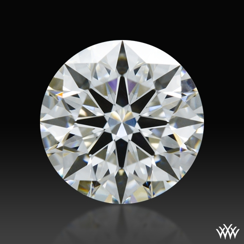 0.563 ct F VS2 A CUT ABOVE® Hearts and Arrows Super Ideal Round Cut Loose Diamond