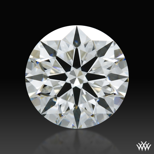 0.582 ct G VS1 A CUT ABOVE® Hearts and Arrows Super Ideal Round Cut Loose Diamond