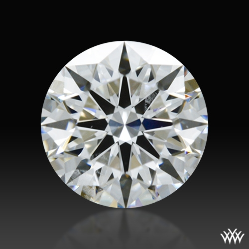 0.518 ct F SI1 A CUT ABOVE® Hearts and Arrows Super Ideal Round Cut Loose Diamond