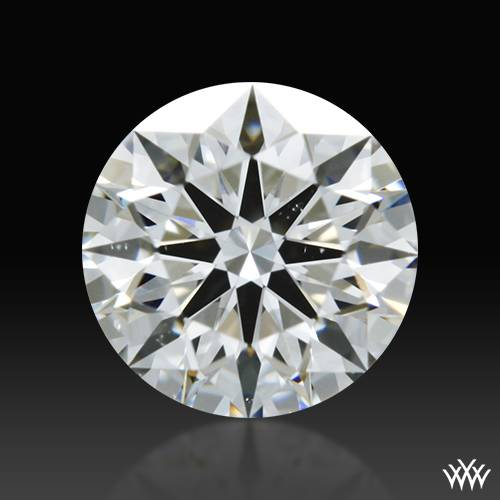 0.518 ct F VS2 A CUT ABOVE® Hearts and Arrows Super Ideal Round Cut Loose Diamond