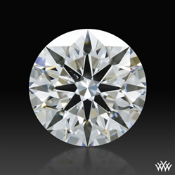 0.587 ct F VS2 A CUT ABOVE® Hearts and Arrows Super Ideal Round Cut Loose Diamond