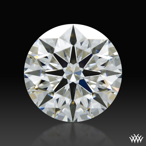 0.591 ct H SI1 A CUT ABOVE® Hearts and Arrows Super Ideal Round Cut Loose Diamond