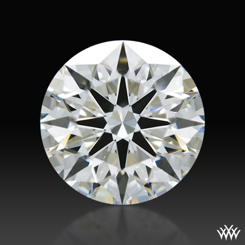 0.84 ct H VS2 A CUT ABOVE® Hearts and Arrows Super Ideal Round Cut Loose Diamond