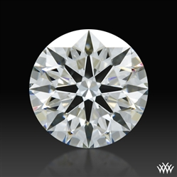 0.756 ct H SI1 A CUT ABOVE® Hearts and Arrows Super Ideal Round Cut Loose Diamond