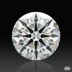 0.706 ct G SI1 A CUT ABOVE® Hearts and Arrows Super Ideal Round Cut Loose Diamond