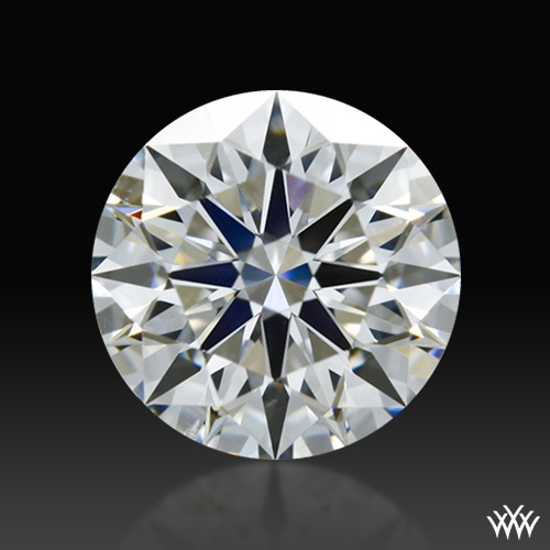 0.738 ct F VS2 A CUT ABOVE® Hearts and Arrows Super Ideal Round Cut Loose Diamond