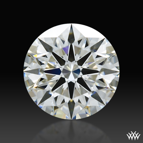 0.813 ct I VS2 A CUT ABOVE® Hearts and Arrows Super Ideal Round Cut Loose Diamond