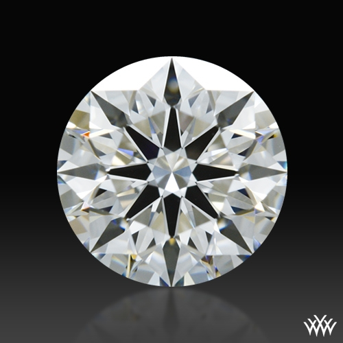 0.865 ct G VS1 A CUT ABOVE® Hearts and Arrows Super Ideal Round Cut Loose Diamond