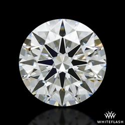 0.91 ct I VVS2 A CUT ABOVE® Hearts and Arrows Super Ideal Round Cut Loose Diamond