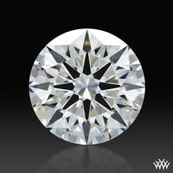 1.108 ct F VVS2 A CUT ABOVE® Hearts and Arrows Super Ideal Round Cut Loose Diamond