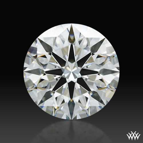 1.105 ct H VS2 A CUT ABOVE® Hearts and Arrows Super Ideal Round Cut Loose Diamond