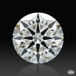 1.243 ct H VS2 A CUT ABOVE® Hearts and Arrows Super Ideal Round Cut Loose Diamond