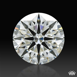 1.218 ct J VS2 A CUT ABOVE® Hearts and Arrows Super Ideal Round Cut Loose Diamond