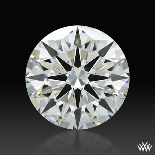 1.268 ct J VS2 A CUT ABOVE® Hearts and Arrows Super Ideal Round Cut Loose Diamond