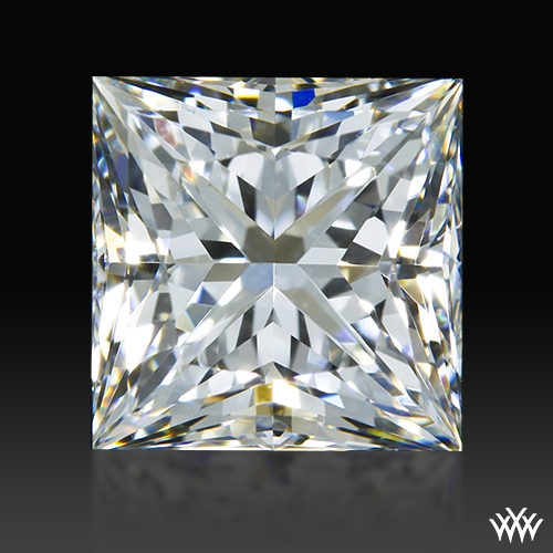 1.21 ct H VS2 A CUT ABOVE® Princess Super Ideal Cut Diamond