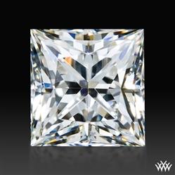 1.221 ct J VVS1 A CUT ABOVE® Princess Super Ideal Cut Diamond