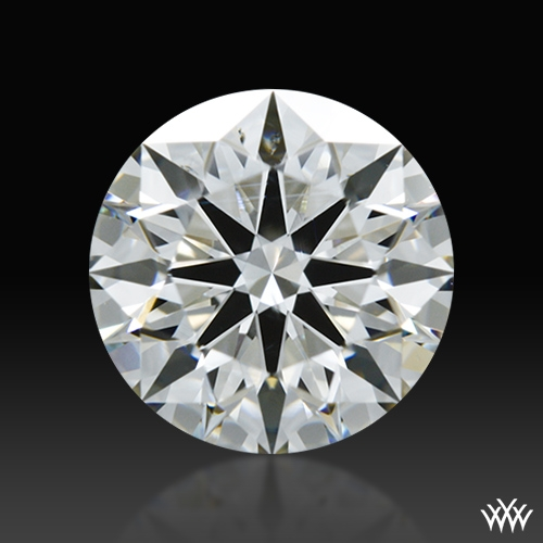1.024 ct H SI1 A CUT ABOVE® Hearts and Arrows Super Ideal Round Cut Loose Diamond