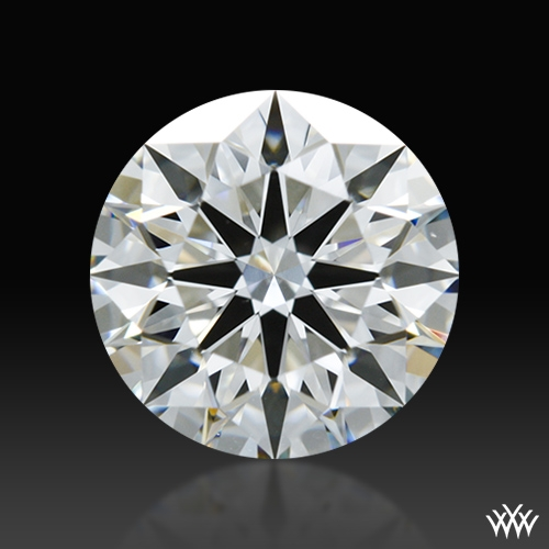 1.005 ct G VS2 A CUT ABOVE® Hearts and Arrows Super Ideal Round Cut Loose Diamond
