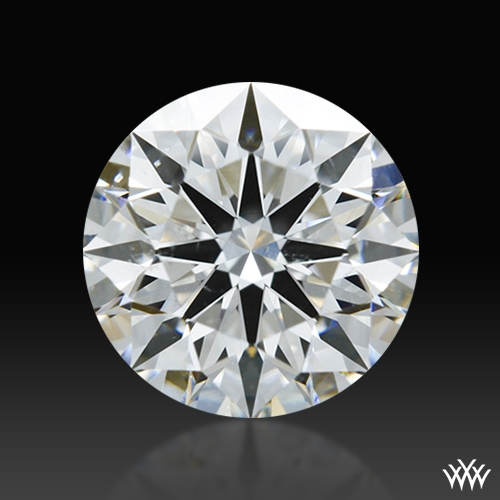 1.013 ct G SI1 A CUT ABOVE® Hearts and Arrows Super Ideal Round Cut Loose Diamond