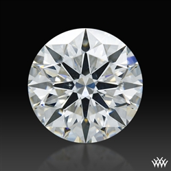 1.083 ct G SI1 A CUT ABOVE® Hearts and Arrows Super Ideal Round Cut Loose Diamond