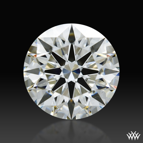 1.014 ct H VS2 A CUT ABOVE® Hearts and Arrows Super Ideal Round Cut Loose Diamond