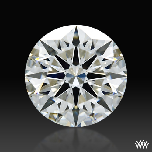1.093 ct H VS2 A CUT ABOVE® Hearts and Arrows Super Ideal Round Cut Loose Diamond