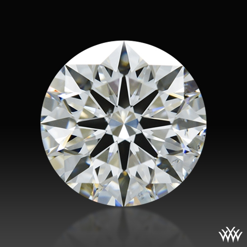 1.258 ct G SI1 A CUT ABOVE® Hearts and Arrows Super Ideal Round Cut Loose Diamond